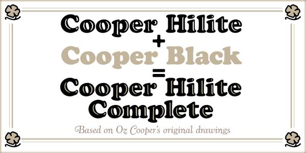 Cooper Hilite Complete
