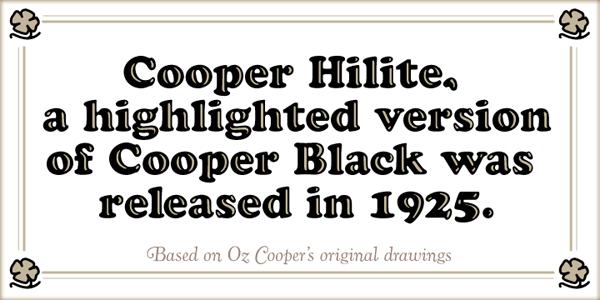 Cooper Hilite Black