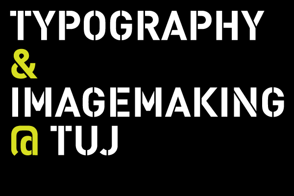 Imagemaking and Typography at Temple University Japan