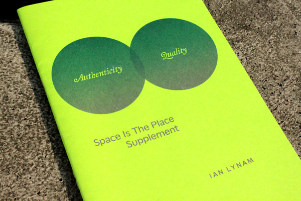 Space Is The Place Ian Lynam