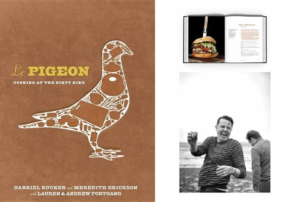 Le Pigeon Cookbook from Ten Speed Press
