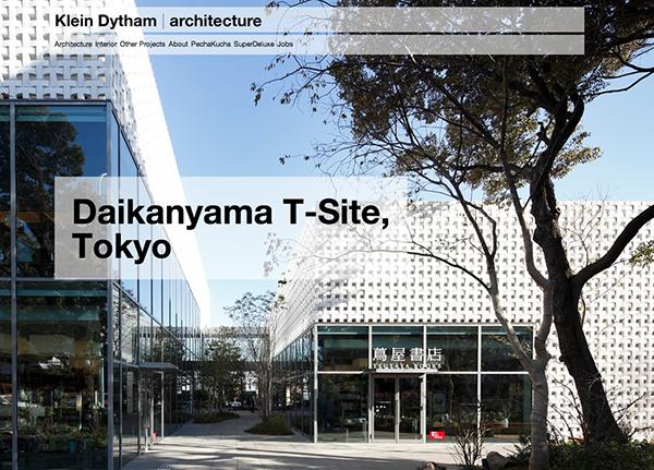 Klein Dytham architecture Tokyo