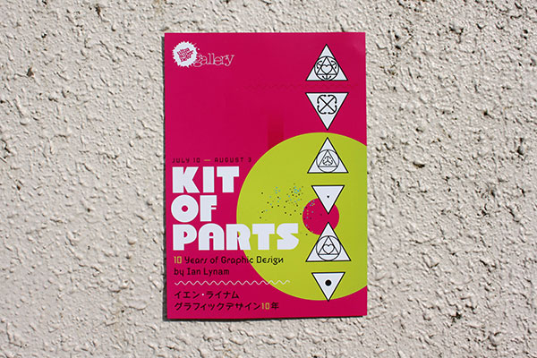 Kit of Parts: 10 Years of Graphic Design by Ian Lynam