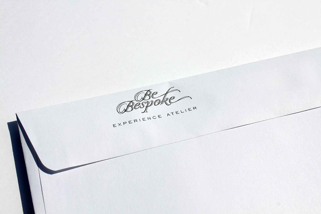 Identity for BeBespoke, Tokyo's Experience Atelier