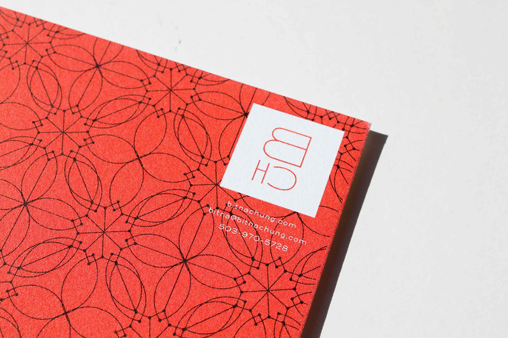 Identity design for Portland, Oregon's Bitna Chung Photography