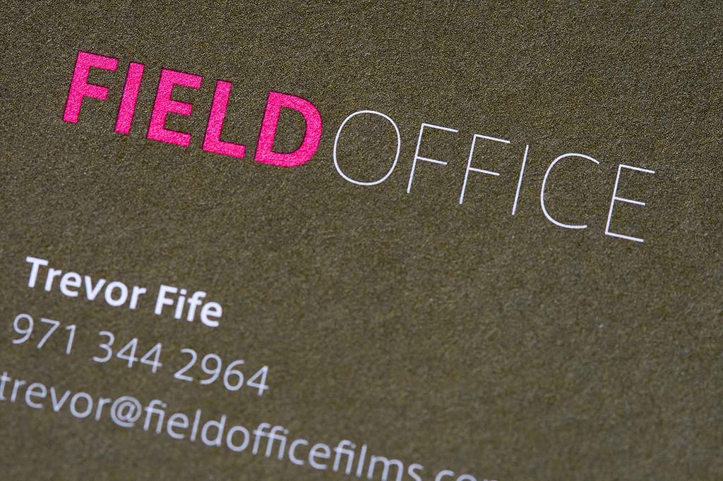 Field Office Films Identity Design