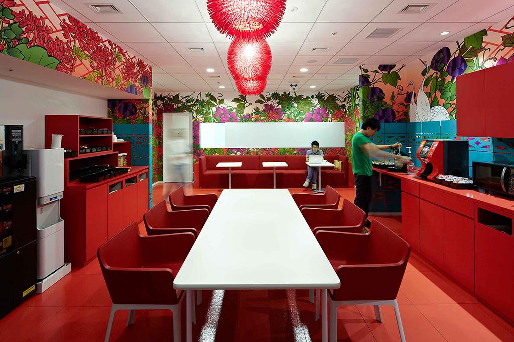 Google Tokyo Offices Interior Design