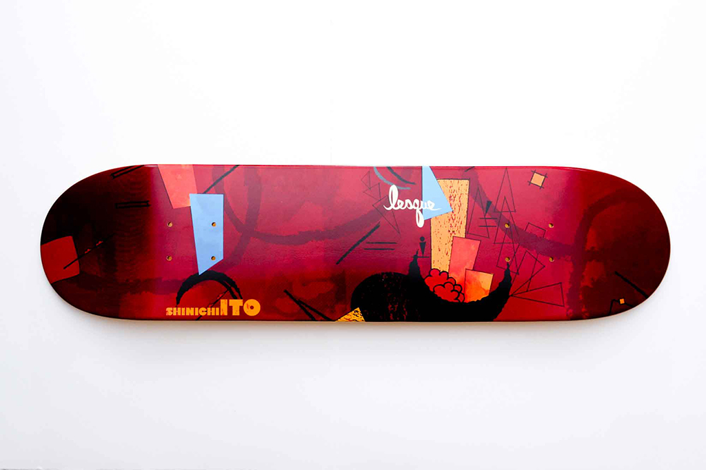 Lesque Skateboards by Ian Lynam