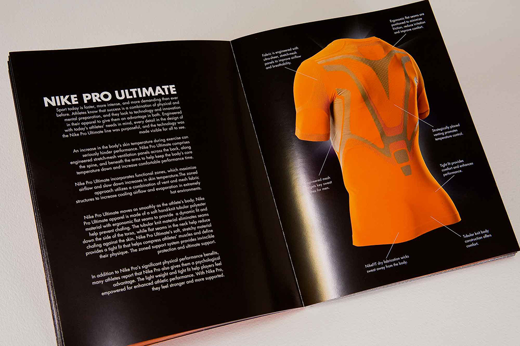 Ian lynam design blog archive nike train to win for Nike brochure design