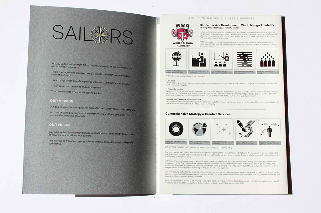 Sailors Singapore by Ian Lynam Design