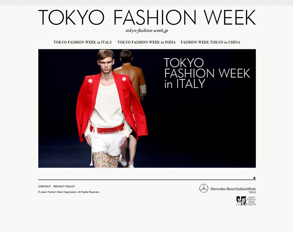tokyo fashion week by ian lynam design