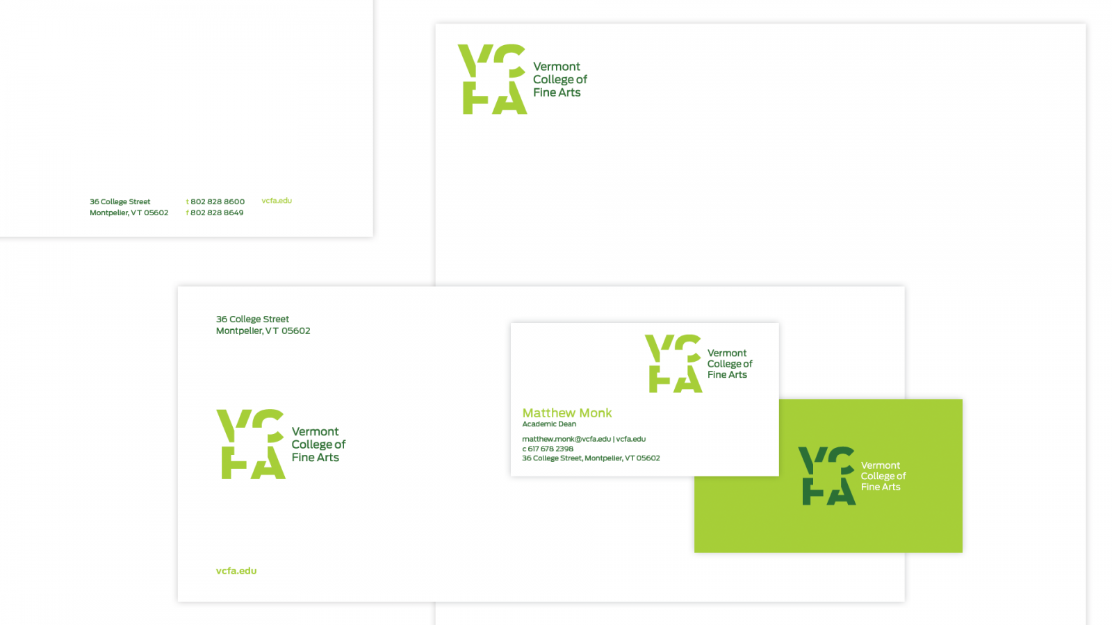 VCFA-stationery